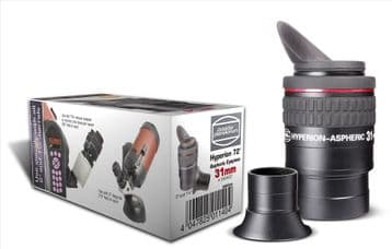 """Hyperion Eyepiece 31mm Aspheric 2""""  with reducerto 1¼"""" and incl. winged eyerest 2454653  see secti"""