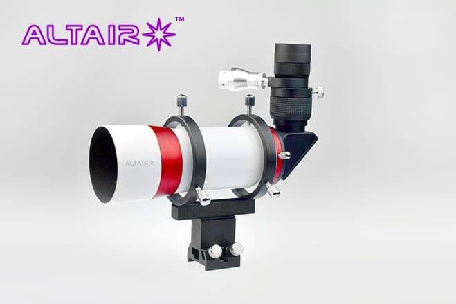 Altair 10x60mm RACI Finder Scope (90 deg erect image prism variable illuminator eyepiece)