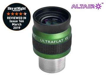 Altair 15mm ULTRAFLAT Eyepiece - Precision barrel stainless steel