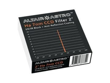 "Altair 2"" Premium 7nm Ha Narrowband Filter"