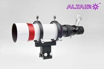 Altair 60mm Finder Guide Scope Straight Thru Non-Rotating Helical Focuser with Illuminated Eyepiece
