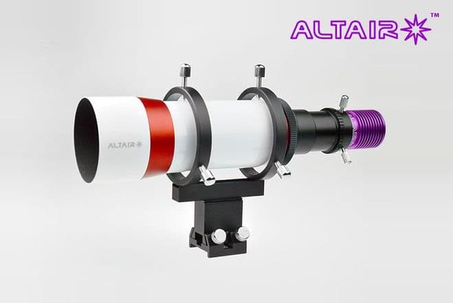 Altair 60mm Guide Scope + GPCAM2 Mono Camera COMBO with Polar Alignment Assist