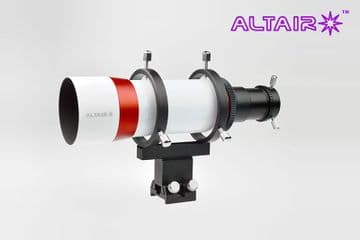 Altair 60mm Guide Scope Kit Straight Thru Precision LOCKING Focuser NO EYEPIECE