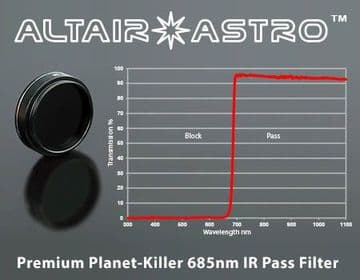 Altair Astro Planet-Killer 685nm Premium IR Pass Filter with AR Coating