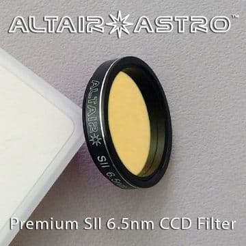 Altair Astro Premium Narrowband 6.5nm SII CCD Filter 1.25""