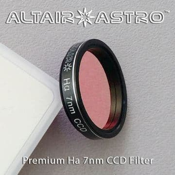 Altair Astro Premium Narrowband 7nm H-Alpha CCD Filter 1.25""