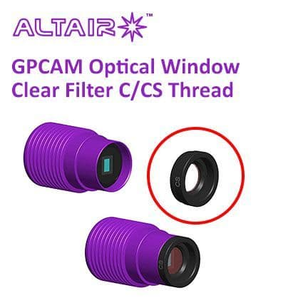 Altair GPCAM Replacement Optical Window - Clear with AR Coating