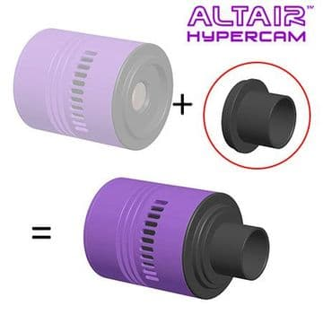 Altair Hypercam 1.25 inch Nosepiece - Straight Sided Barrel