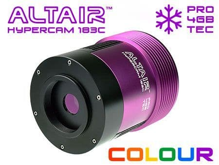 Altair Hypercam 183C PRO TEC COOLED Colour 20mp Astronomy Imaging Camera