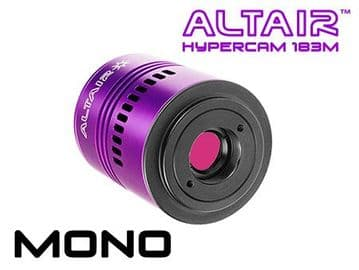 Altair Hypercam 183M PRO 20mp Mono Astronomy Imaging Camera Fan-cooled
