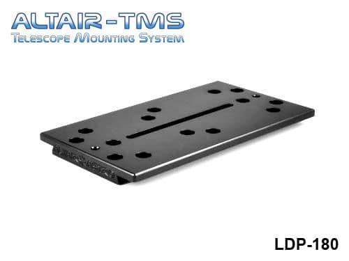 Altair TMS 180mm Losmandy Plate Black Anodized