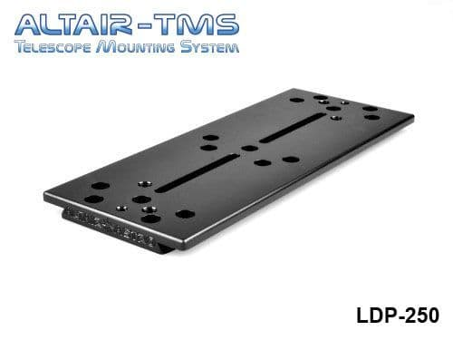 Altair TMS 250mm Losmandy Plate Black Anodized