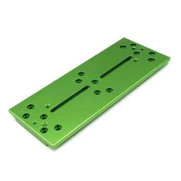 Altair TMS 250mm Losmandy Plate GREEN Anodized