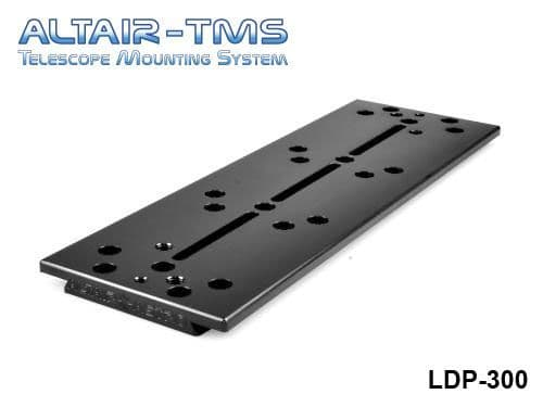 Altair TMS 300mm Losmandy Plate Black Anodized