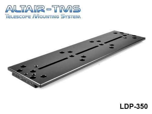 Altair TMS 350mm Losmandy Plate Black Anodized