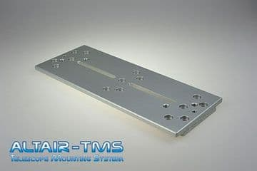 Altair TMS Losmandy Dovetail Plate 250mm Silver