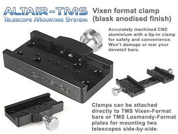 Altair TMS - Vixen Synta Dovetail Clamp Black