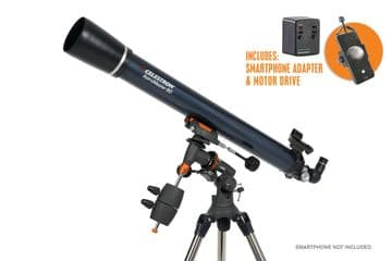 Celestron Astromaster 80EQ-MD with Phone adapter and Motor Drive