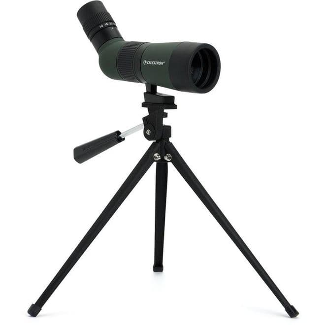 Celestron LandScout 10-30x50mm Spotting Scope with Table-top Tripod