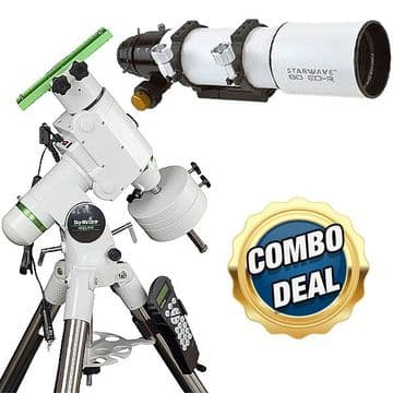 Combo Deal - Starwave 80 ED-R Doublet & HEQ5 Pro GOTO Mount