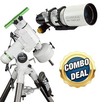 Combo deal - Starwave 80ED Triplet + HEQ5 PRO Goto Mount