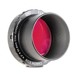 """DSLR-T-Rings with  2"""" Filter Container"""