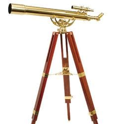 Helios - Fine Brass Traditional Solid Brass Telescopes