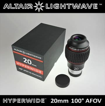 Lightwave HYPERWIDE 100° eyepiece 20mm 2 inch