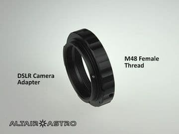 M48 x 0.75 DSLR Adapter for Canon or Nikon