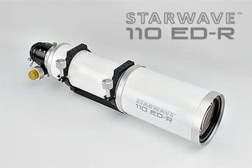 "Starwave 110ED-R Refractor Telescope with 2.5"" Positive Lock R&P Focuser"