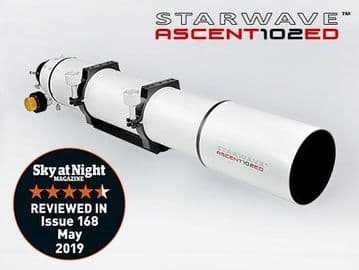 Starwave ASCENT 102ED F7 Refractor Telescope Geared Focuser