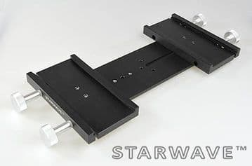 Starwave Dual Losmandy-format 3 inch side by side dovetail bar kit 265mm OTA separation