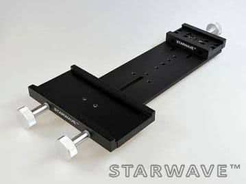 Starwave Dual Vixen & Losmandy-format 3 inch side by side dovetail bar kit 265mm OTA separation