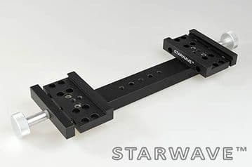Starwave Dual VixenSynta 1.75 inch side by side dovetail bar kit 230mm OTA separation