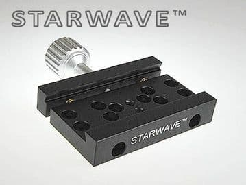 Starwave Mini Vixen-format clamp to fit camera tripod