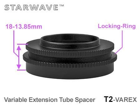 T2 Variable Locking Extension Ring - Easy Grip