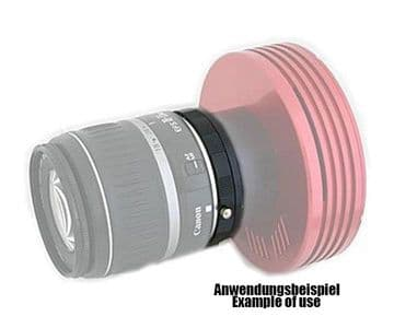 TS-Optics CCD Adapter for Canon EOS lenses to M48 - 10 mm length
