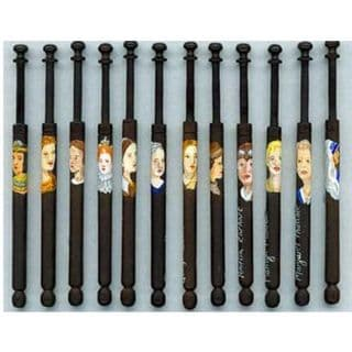 Famous Women of History bobbins
