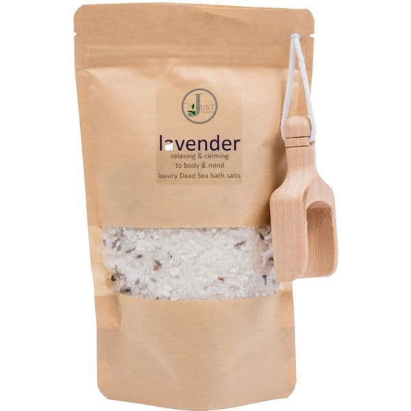 Lavender Dead Sea Bath Salts (350g)