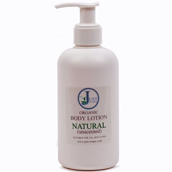 Natural (Unscented) Body Lotion Organic 200ml
