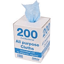 ALL PURPOSE CLOTHS BLUE