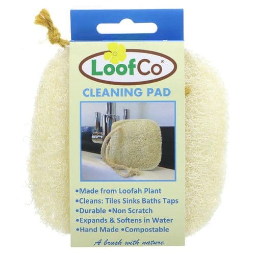 LoofCo Loofah Plant Cleaning Pad