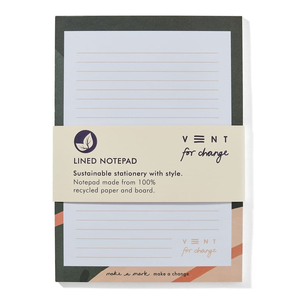 VENT 100% Recycled A5 Lined Notepad