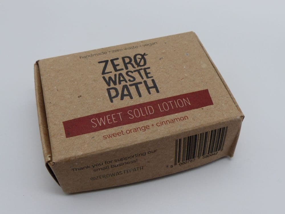 Zero Waste Path Solid Lotion - Sweet