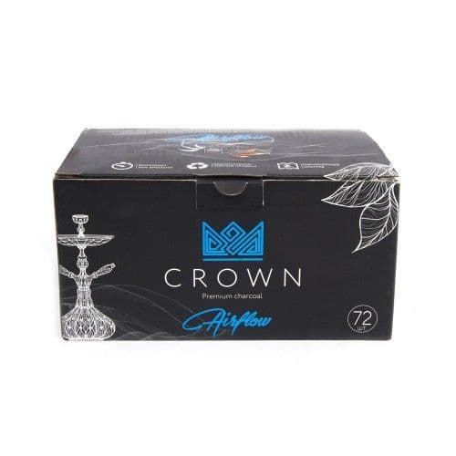 Crown Coconut Charcoal from Russia 1kg (25mm)