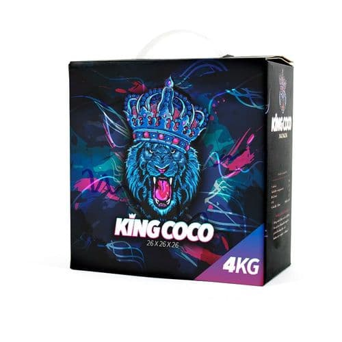 King Coco Charcoal 4kg  (26mm)