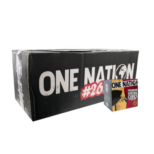 One Nation Coconut Charcoal 20kg Case (26mm)