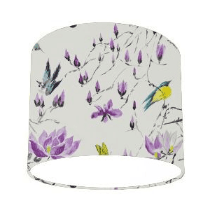 Designers Guild Madame Buttefly II Amethyst Purple Lamp Shade