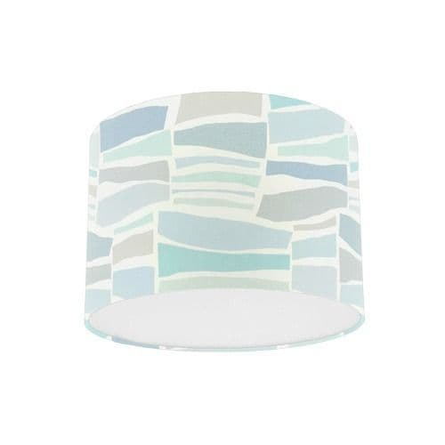 Sanderson Papavera Milla Mineral / Multi Fabric Drum Lamp Shade