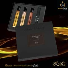 JUNOON POUR HOMME COLLECTION - SCENT ODYSSEY EDP 7.5ML EACH -SET Rasasi UK & EU Dist